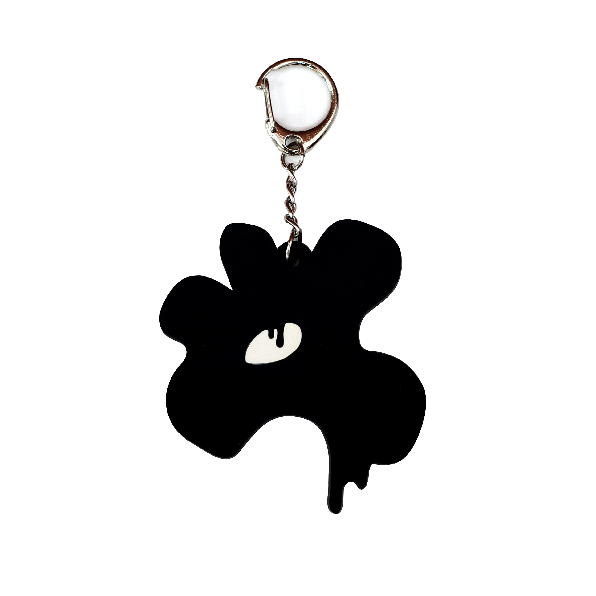 Melting Flower Key Ring