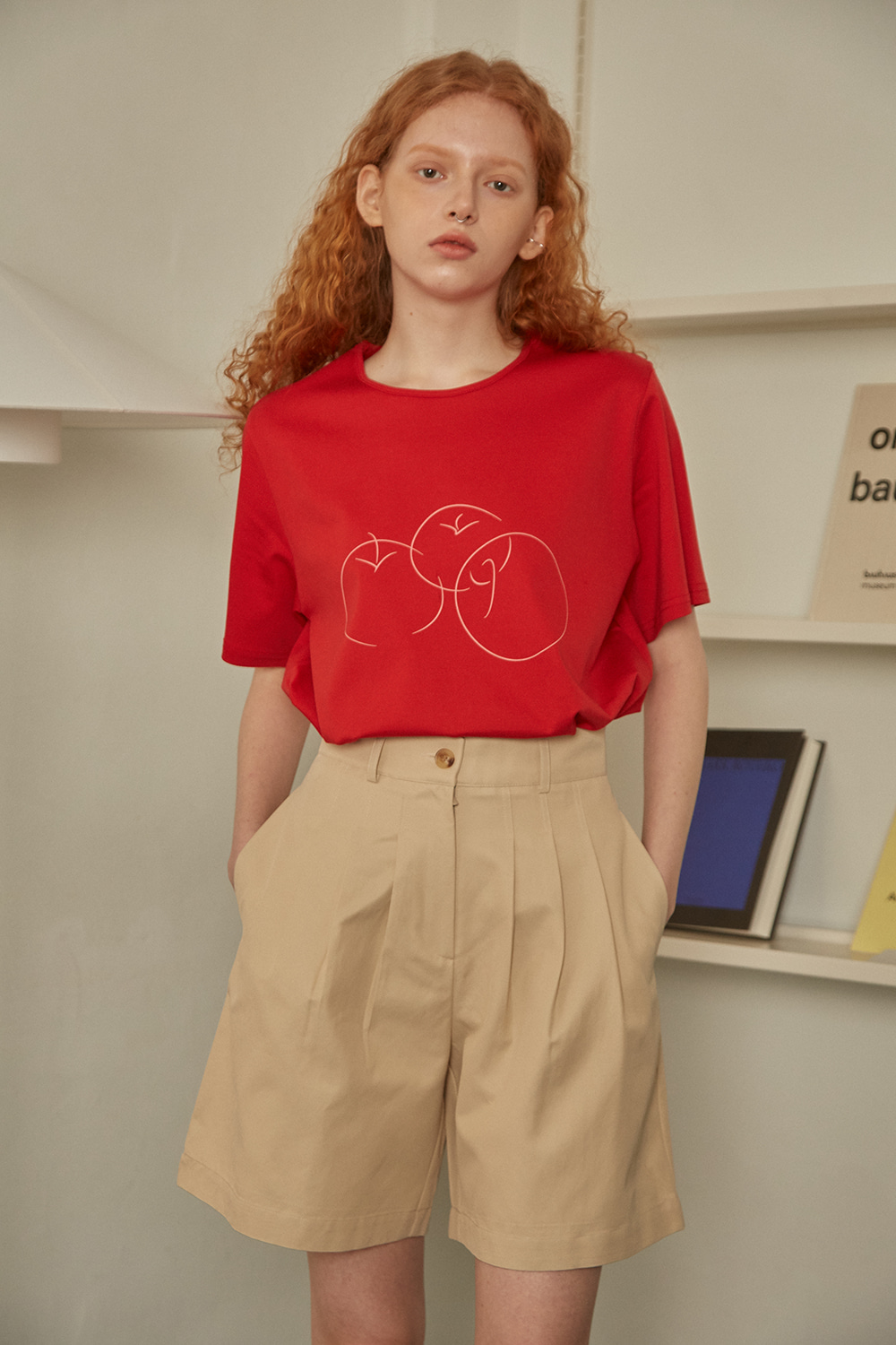 Apple T-shirt (red)