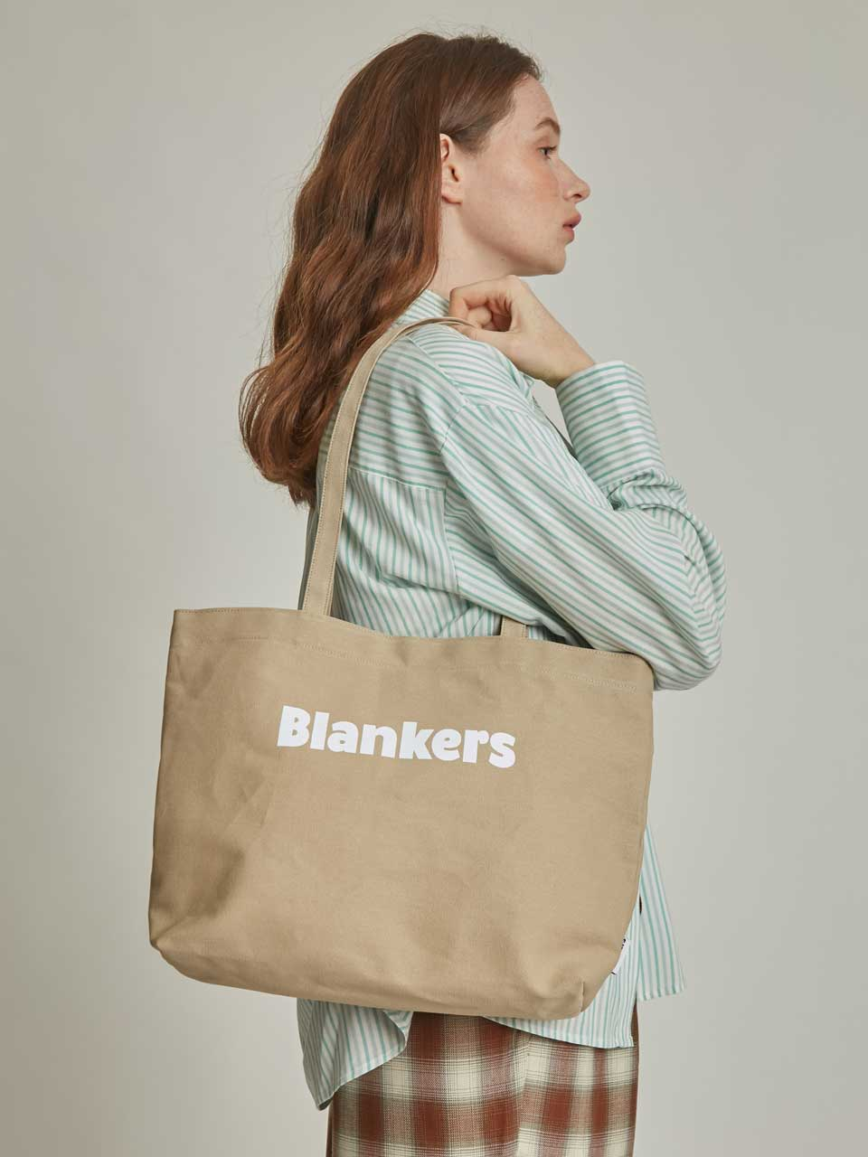 Blankers Basic Canvas Bag (beige)