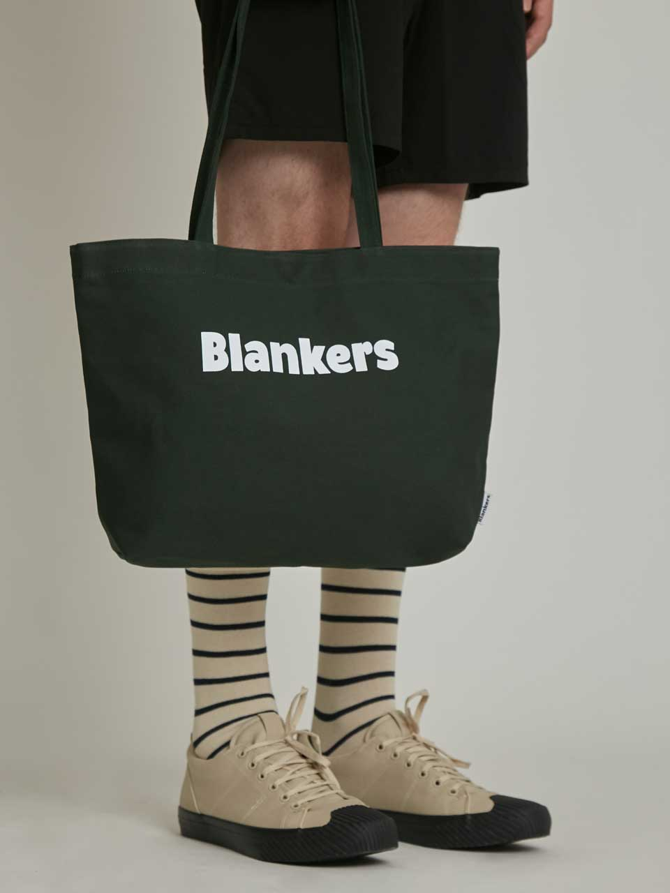 Blankers Basic Canvas Bag (deep green)
